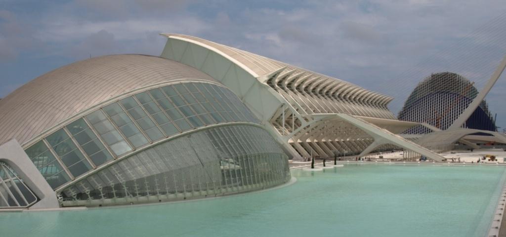 Город науки в Валенсии. Фото:   aherrero