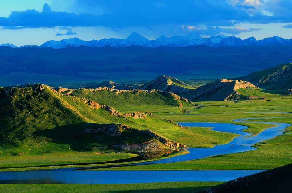 Природная зона Bayinbuluke. Автор: lwtt93. Фото:  www.flickr.com