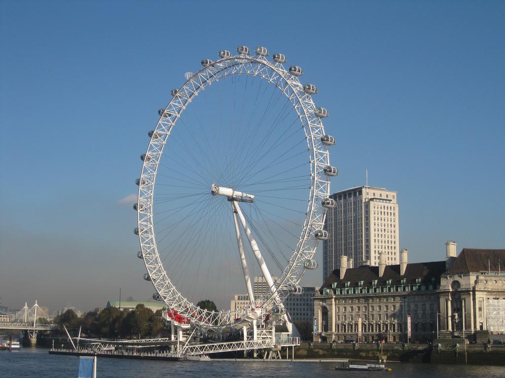 Колесо обозрения «Око Лондона». Фото:   tjuel
