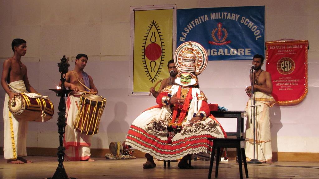 Спектакль Катхакали. Автор: Trilok Rangan. Фото:  www.flickr.com