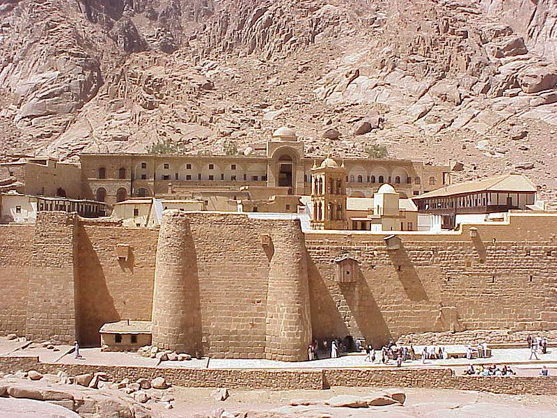 Монастырь Св. Екатерины на горе Синай. Фото: dic.academic.ru