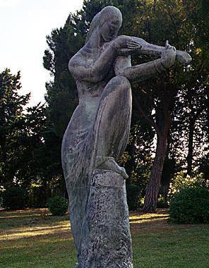 Сад галереи Местровича. Фото: www.poedem.ru