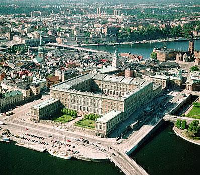 Королевский дворец. Стокгольм. Фото: petrotour.ru