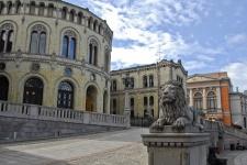 Стортинг (здание Парламента)