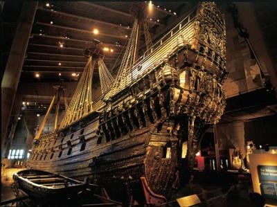 Корабль-музей Васа. Стокгольм. Фото: tourgrad.ru