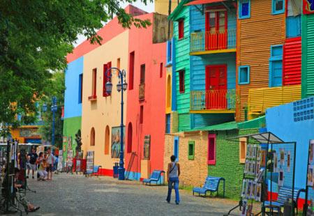 Район Ла Бока. Буэно-Айрес. Фото: bing.com
