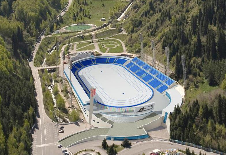 Спортивный комплекс «Медео». Фото: medey.kz