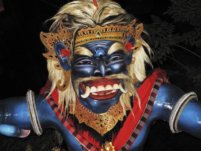 На празднике в честь Нового года - Ньепи. Фото: jasonlunn.com