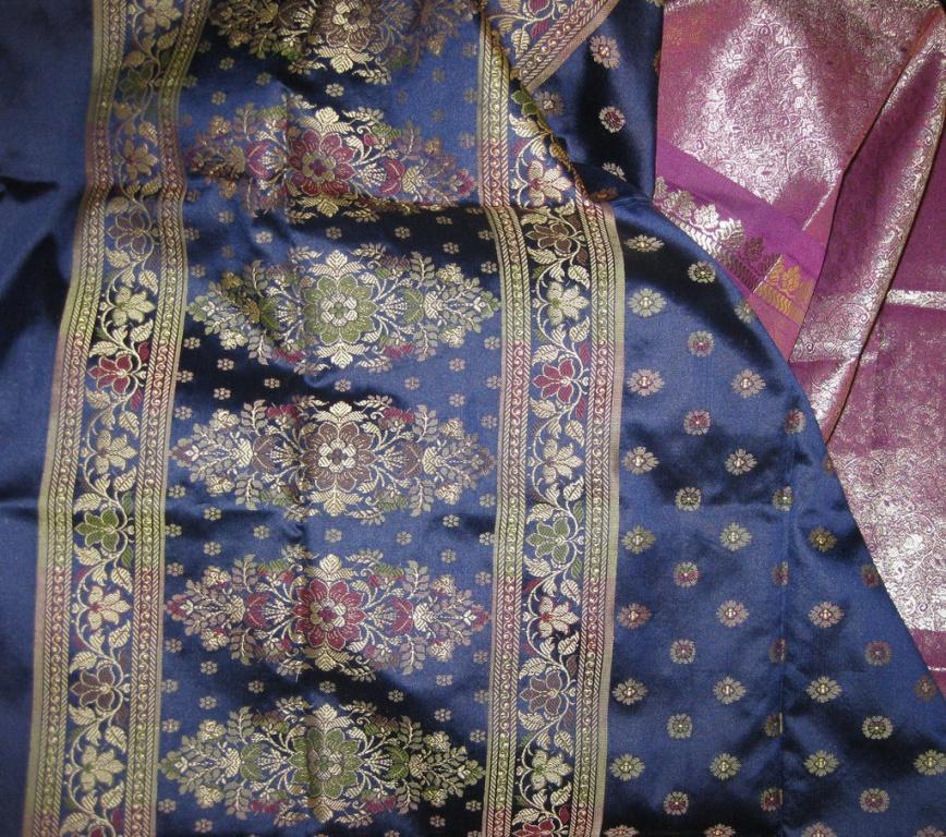 Индийские шелковые ткани. Автор: RubyGoes. Фото:  www.flickr.com