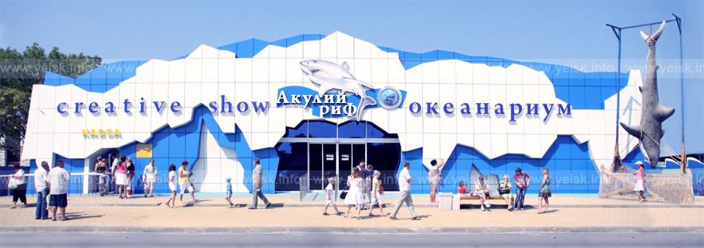 Океанариум «Акулий риф». Фото с сайта  www.yeisk.info