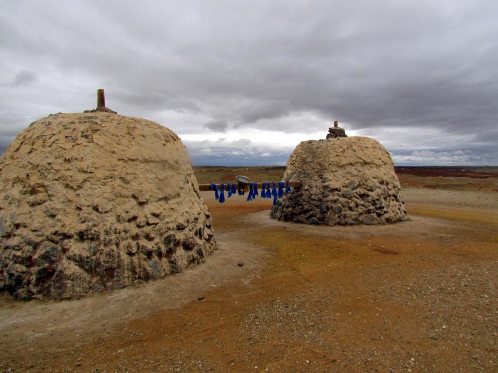 Монгольское обо, место поклонения духам. Автор: David Berkowitz. Фото:  www.flickr.com