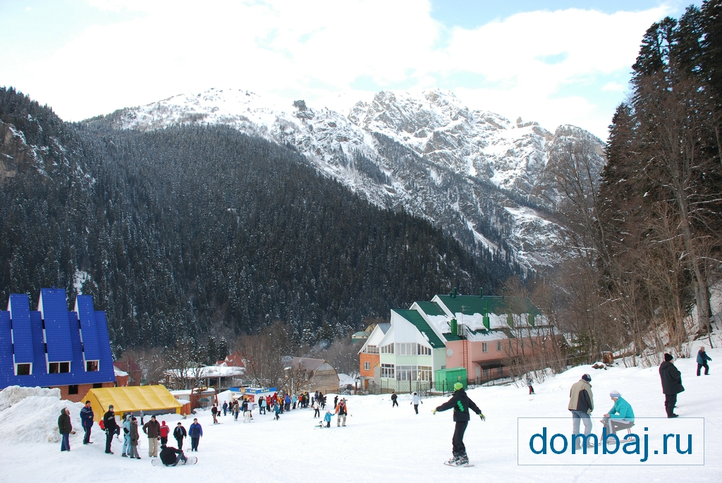 Домбай, 1-й уровень ККД. Фото: dombaj.ru