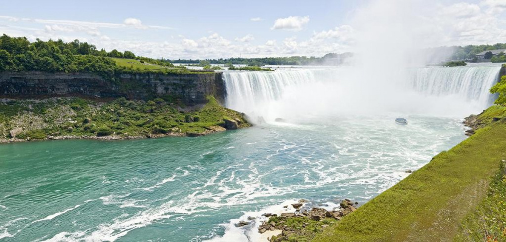 Ниагарский водопад. Фото с сайта  tonkosti.ru