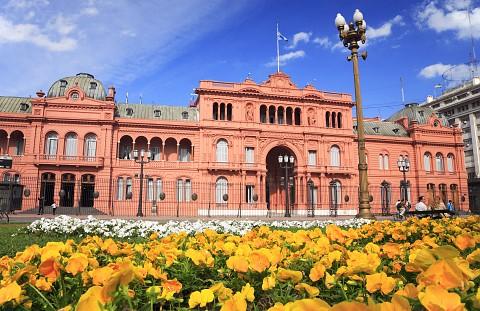 Резиденция президента Casa Rosada. Буэнос-Айрес. Фото: everywheremag.com