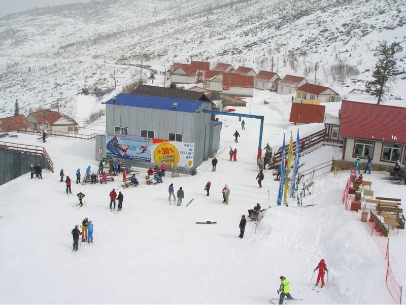 Приют «Горный». Фото: ski-gladenkaya.ru