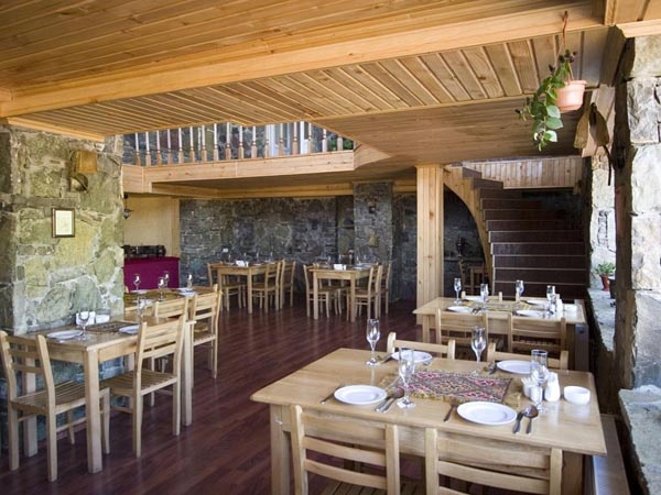 Ресторан в отеле «Гудаури Хат». Фото: www.gudauri.ru