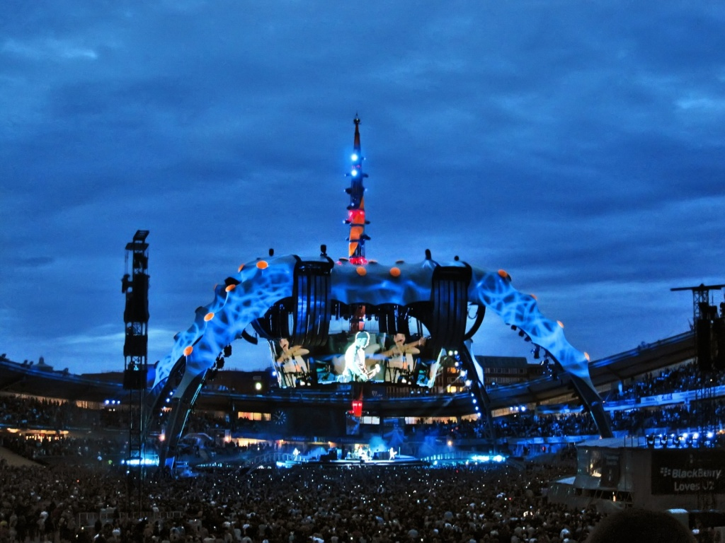 Концерт U2 на Уллеви. Автор: FromTheNorth. Фото:  www.flickr.com