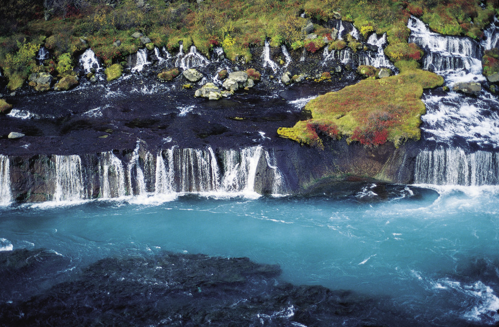 Водопады Хрейнфоссар. Фото: scandica-travel.ru