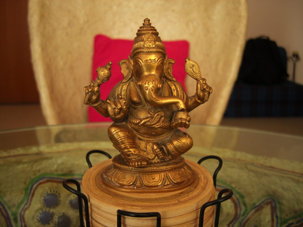 Ганеша. Автор: Swaminathan. Фото:  www.flickr.com