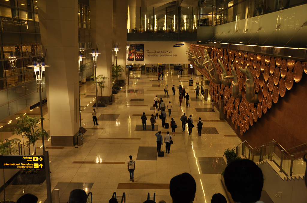 Аэропорт Ганди. Автор: rajkumar1220. Фото:  www.flickr.com
