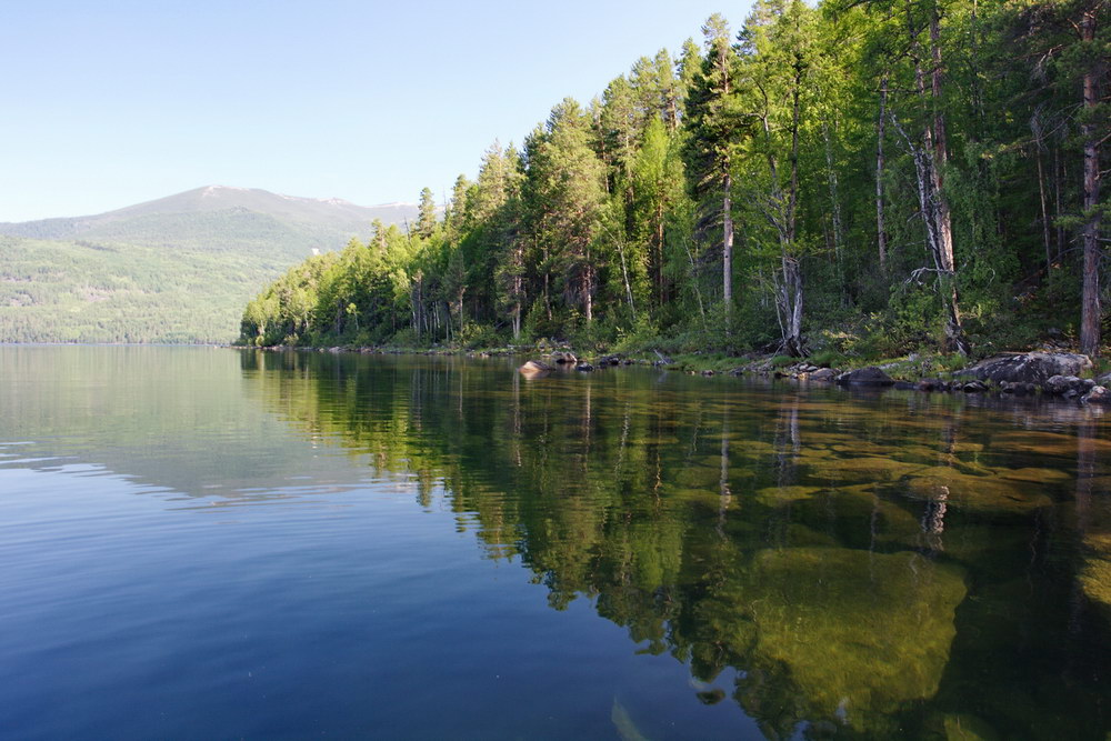 озерная вода фото