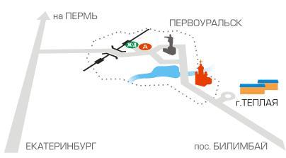 Схема проезда. Фото: www.teplaya.ru