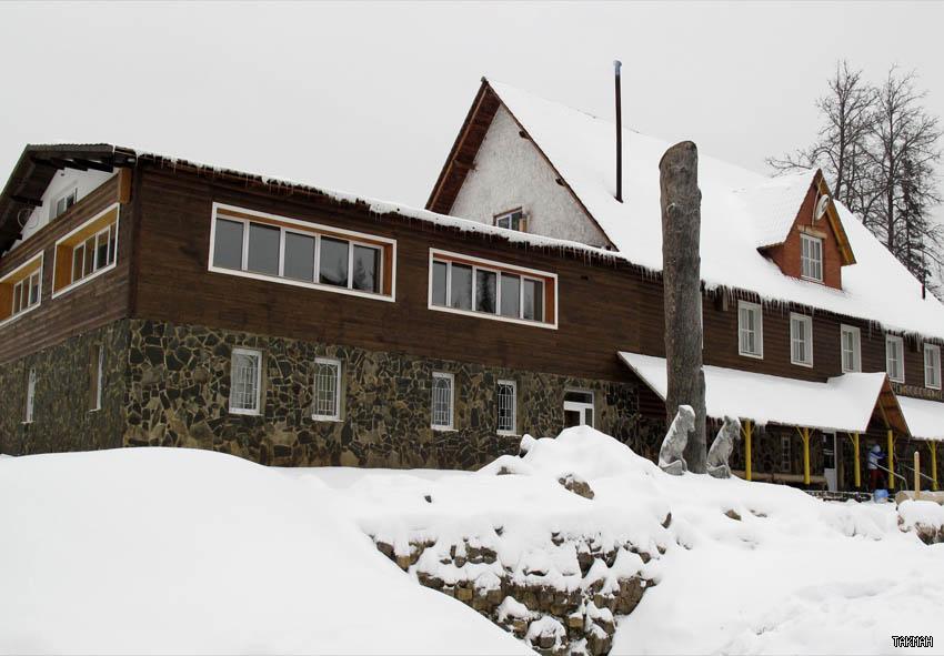 Здание кафе, «Такман». Фото: www.takman-ski.ru