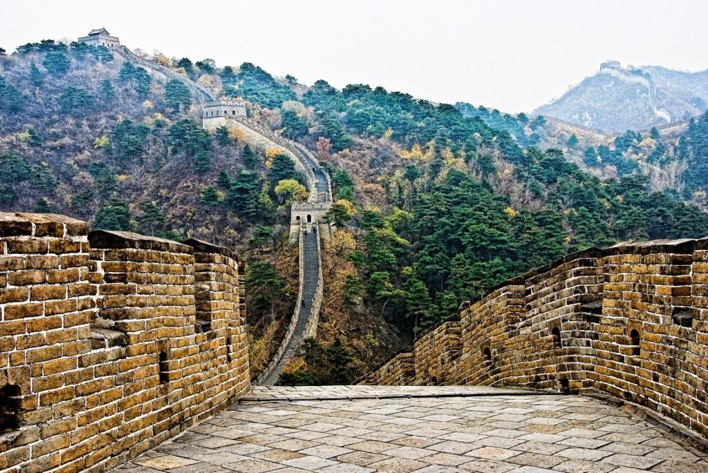 Великая китайская стена. Автор: Francisco Diez. Фото:  www.flickr.com