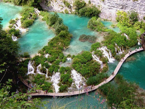 Плитвицкие озера. Фото: exprimo.livejournal.com