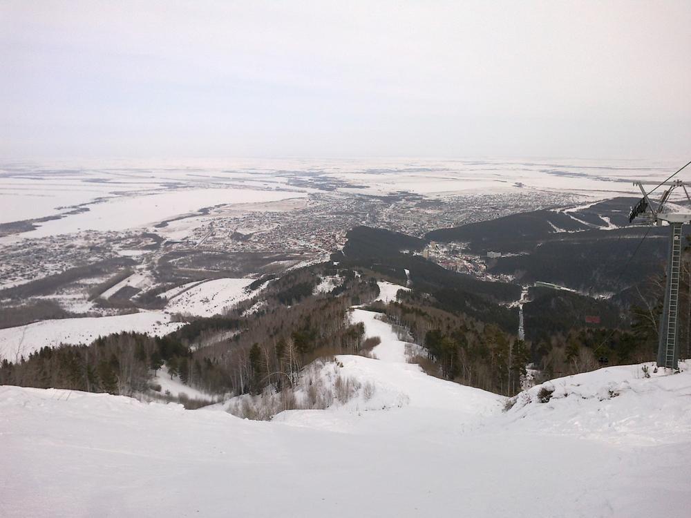 На вершине г. Церковка