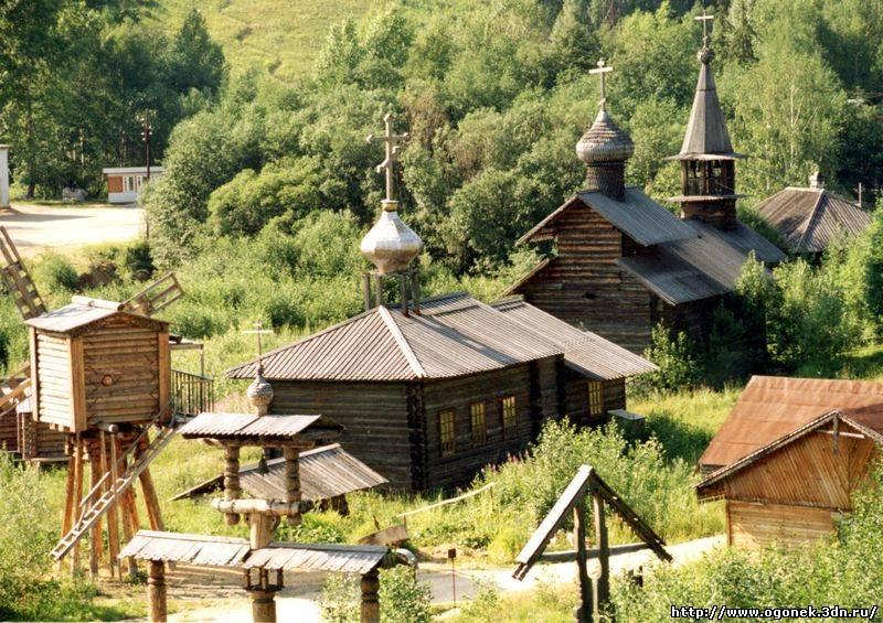 Этнографический парк истории реки Чусовой.   Фото: ogonek.3dn.ru