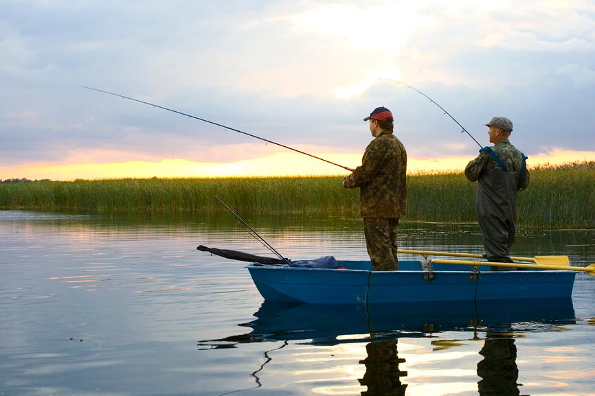 фото лодок с рыбаками