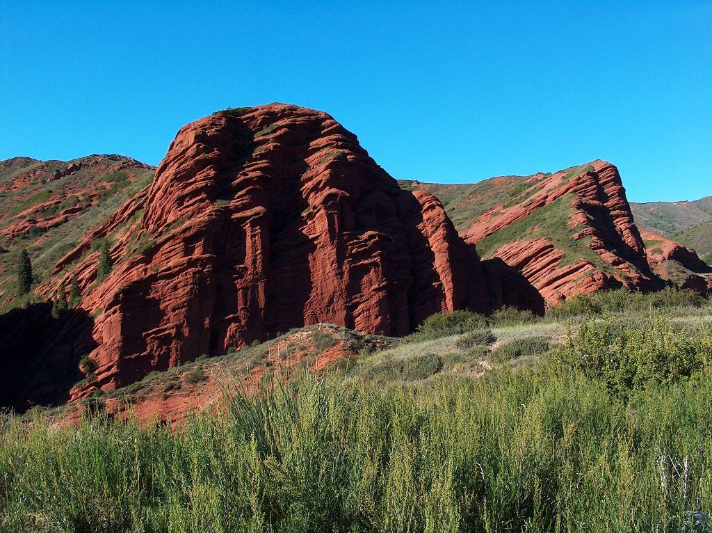 Ущелье Джеты-Огуз. Фото:  www.silkroadadventures.info