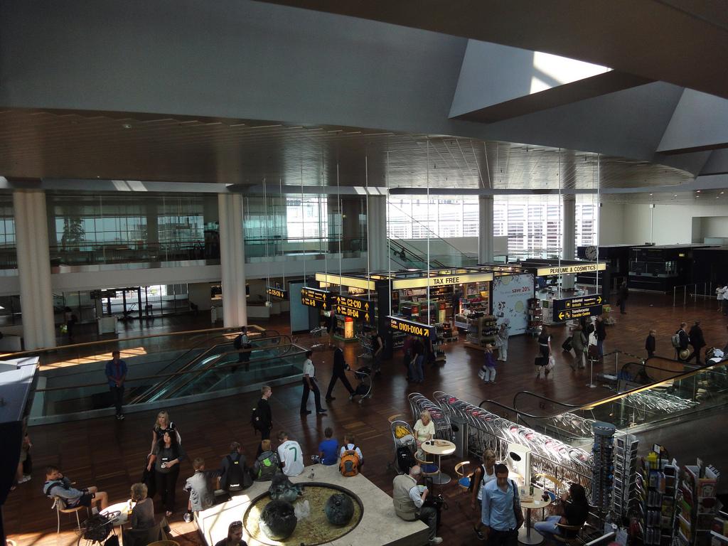 Аэропорт Каструп. Копенгаген. Фото:     Seansie