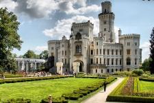 Замок Глубоко-над-Влтавой
