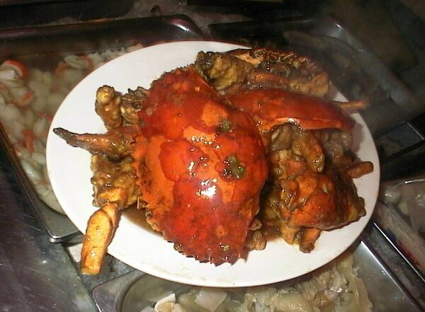 Жареные соленые крабы - куа жанг муой. Фото: zamboanga.net