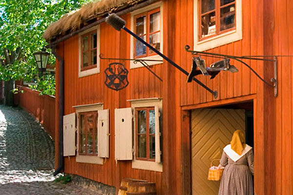 Этнографический музей Скансен. Фото: holidaym.ru
