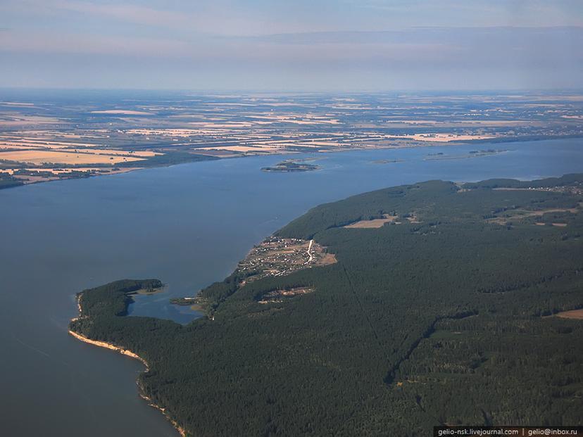 Новосибирское водохранилище. Автор: Gelio | Слава Степанов.   gelio-nsk.livejournal.com