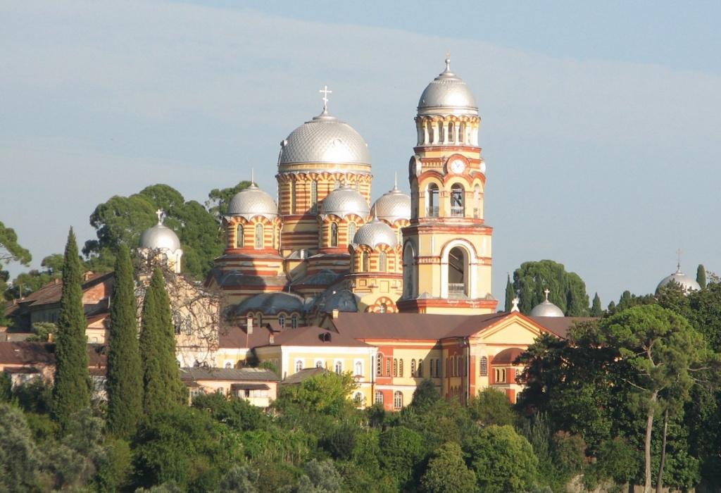 Новоафонский монастырь. Фото: apsuaforum.bestforums.org
