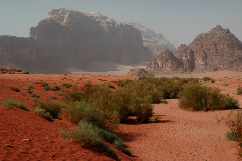Пустыня Вади-Рам. Автор: Maureen. Фото:  www.flickr.com