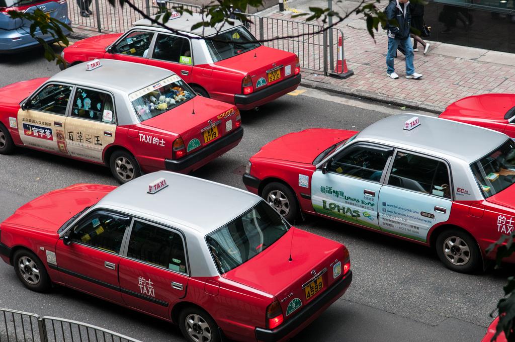 Такси. Автор: Michal Osmenda. Фото:  www.flickr.com