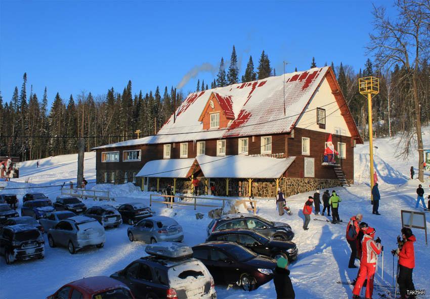 Административное здание курорта «Такман». Фото: www.takman-ski.ru