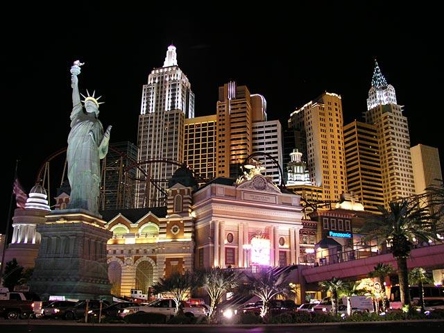 Лас-Вегас. Фото с сайта  www.holidaym.ru