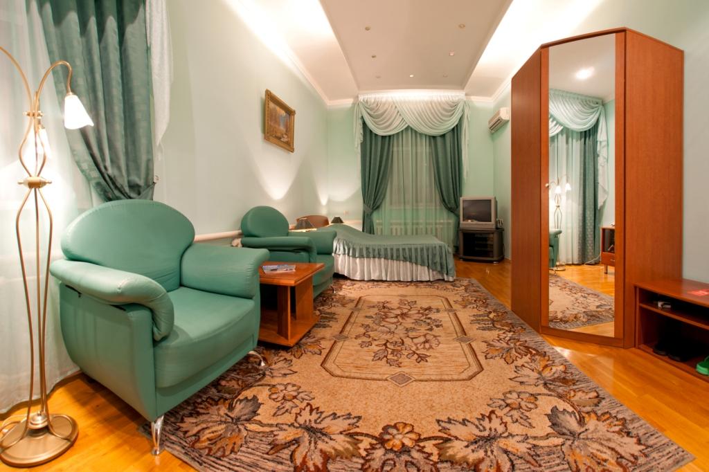 Номер-Студия. Фото: www.hotelaltai.ru