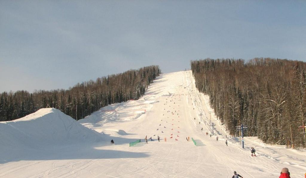 Гора Туманная. Фото: snowshcool.clan.su
