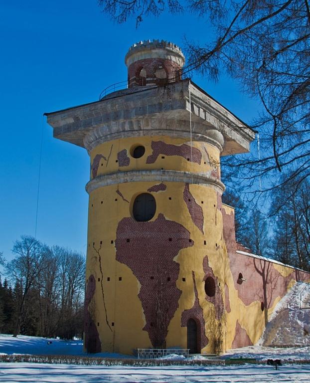 Башня-руина. Фото с сайта  foto-planeta.com