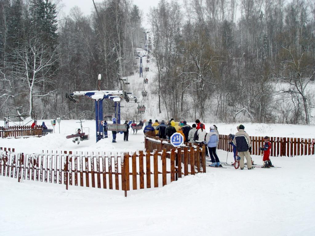 У подъемника, ГК «Степаново». Фото: www.volen.ru