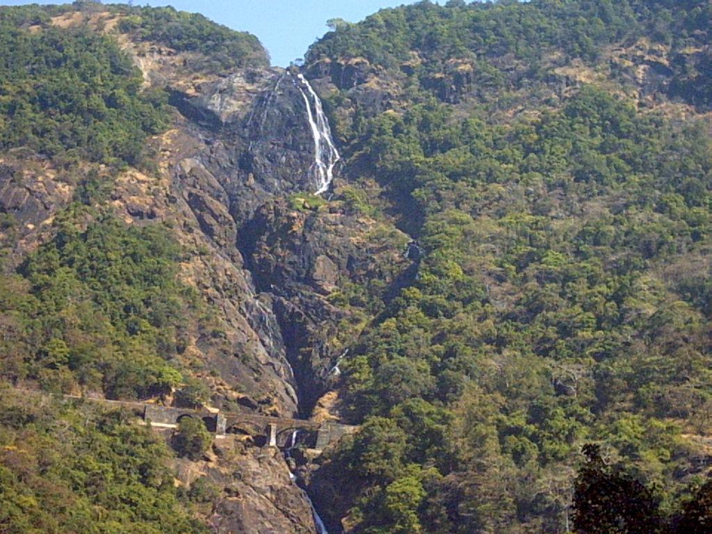 Водопад Дудхсагар. Автор: Amey Hegde. Фото:  www.flickr.com