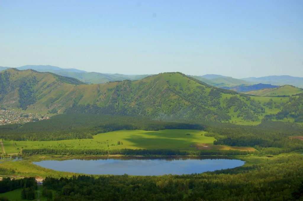 Озеро. Манжерок.  Автор: Колосова Наталья