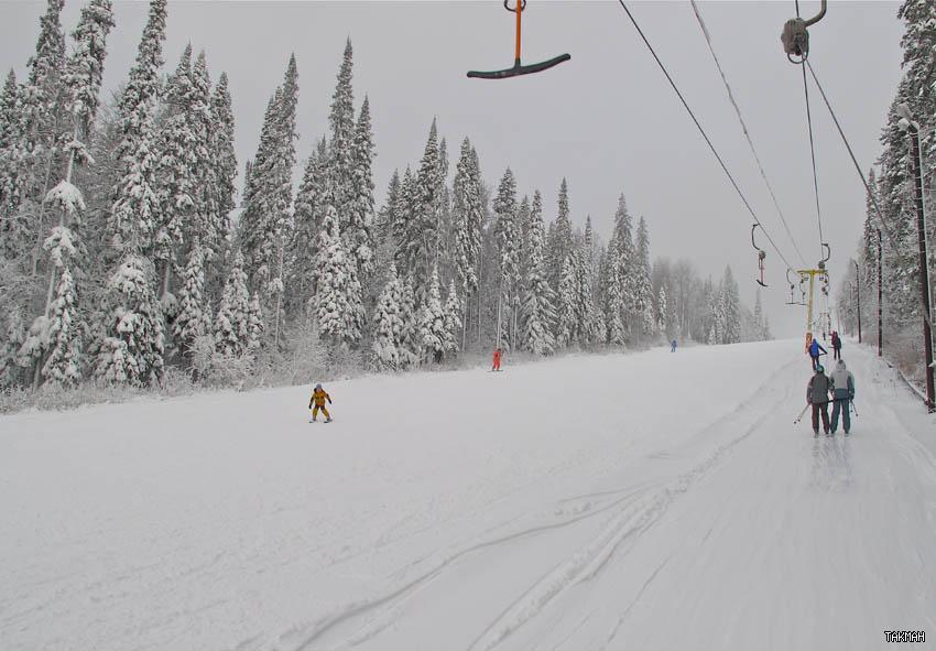 На трассе. Фото: takman-ski.ru